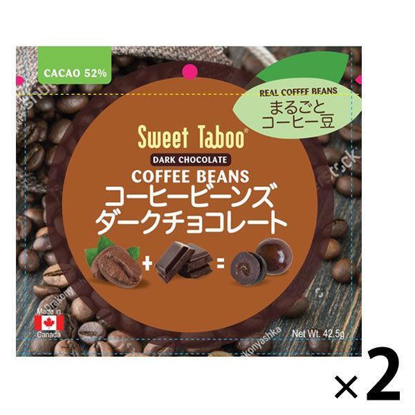 アウトレット コーヒービーンズ ダークチョコレート 42.5g 1セット(2個) アールビー・フーズ