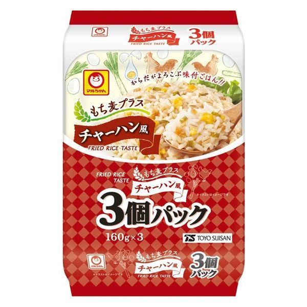 パックごはん 3食 もち麦プラス チャーハン風(3食入)× 1個 東洋水産 米加工品 包装米飯