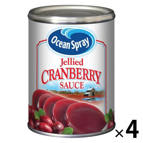 【アウトレット】オーシャンスプレー クランベリー(ジェリー) 397g 4缶