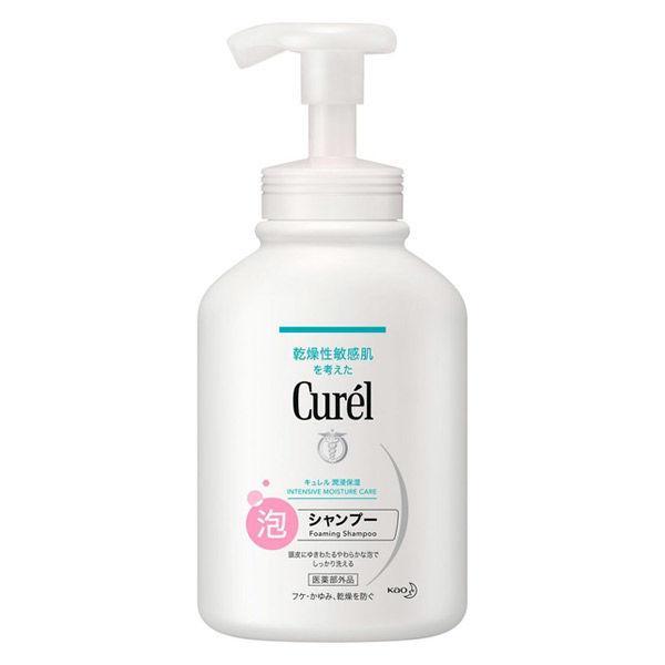 Curel(キュレル)泡シャンプーポンプ480ml花王