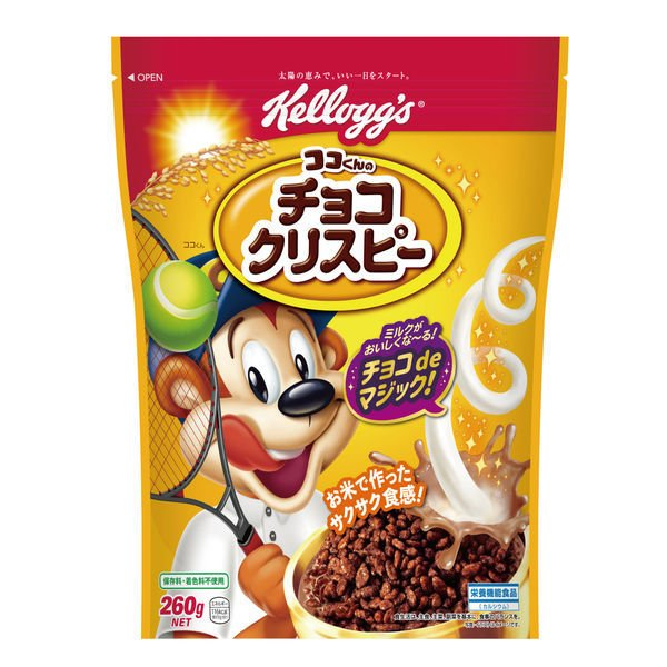ケロッグ チョコクリスピー 260g 1袋 シリアル