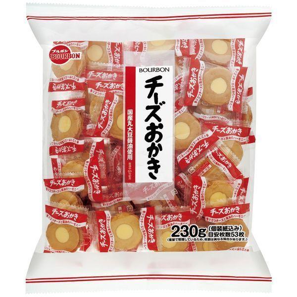 ブルボン チーズおかき 230g 1袋