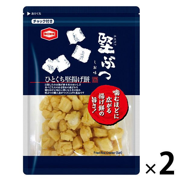 亀田製菓 堅ぶつ 180g 1セット(2袋)