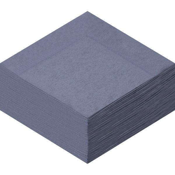 カラーナプキン 4つ折り 2PLY キャビア 1セット(50枚入×4袋) 溝端紙工印刷 【業務用】 オリジナル
