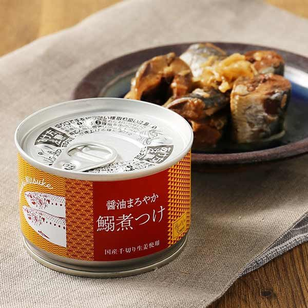【LOHACO限定】醤油まろやか 鰯煮つけ 国産千切り生姜使用 5缶
