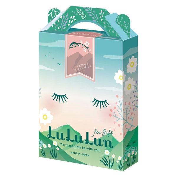 null 母の日 プレゼント 数量限定 フェイスマスク lululun ルルルン for gift アルプスの森の香り +2種 ギフトセット グライド・エンタープライズの画像
