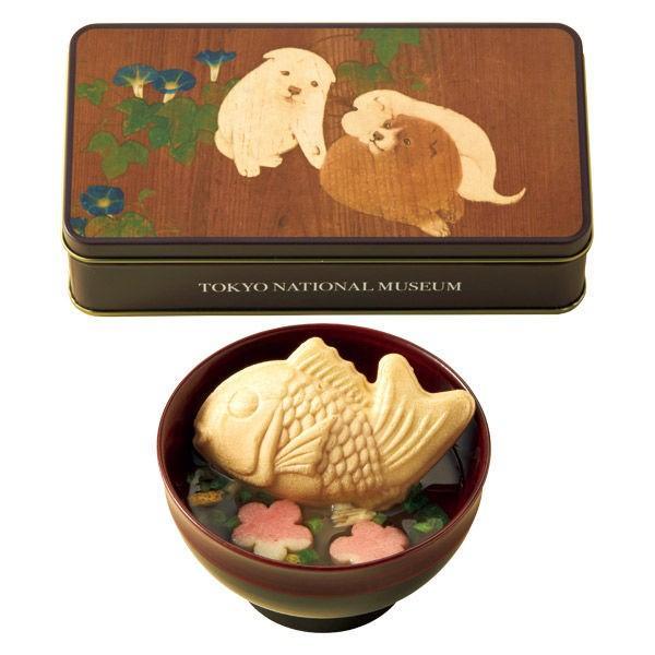 三越伊勢丹〈久右衛門〉 鯛最中のお吸物 東京国立博物館 コラボレーションギフト TH-15A お歳暮