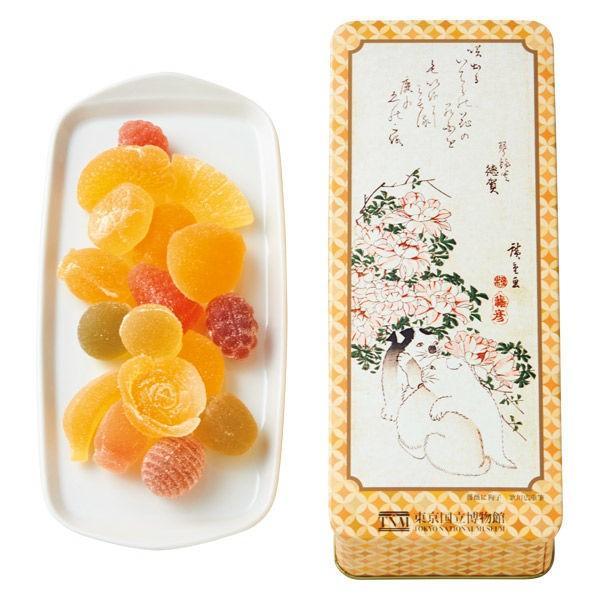 三越伊勢丹 彩果の宝石 ゼリーアソート 東京国立博物館コラボレーションギフトUHK10 手土産 母の日 父の日 敬老の日 お祝い