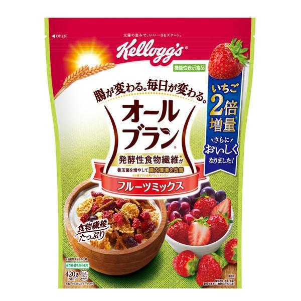 日本ケロッグ オールブランフルーツミックス 徳用 420g 1袋 機能性表示食品 シリアル
