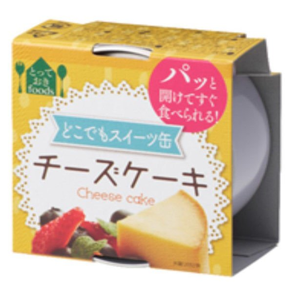 トーヨーフーズ どこでもスイーツ缶 チーズケーキ ミニ 1缶