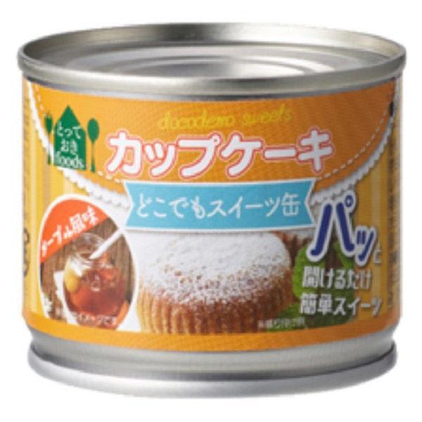 トーヨーフーズ どこでもスイーツ缶 カップケーキ メープル風味 1缶