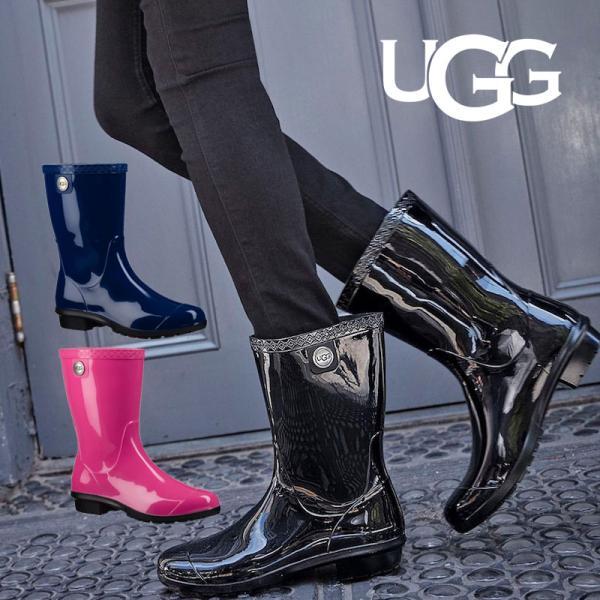 0258346a313 UGG アグ オーストラリア レインブーツ 長靴 シエナ SIENNA Rubber Rain ...