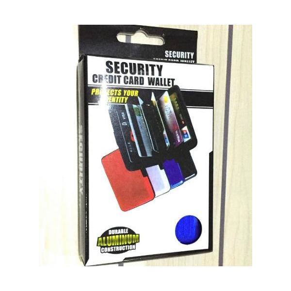 名刺入れ メンズ おしゃれ 40代 アルミ カードケース スキミング防止  取りだしやすい 蛇腹式カードウォレット|y-mty|04