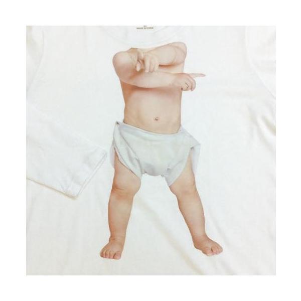 Tシャツ メンズ おしゃれ カットソー おもしろ トップス 赤ちゃん 長袖 トップス ベビーダンサー サイズM カジュアルシャツ btab181 y-mty 02