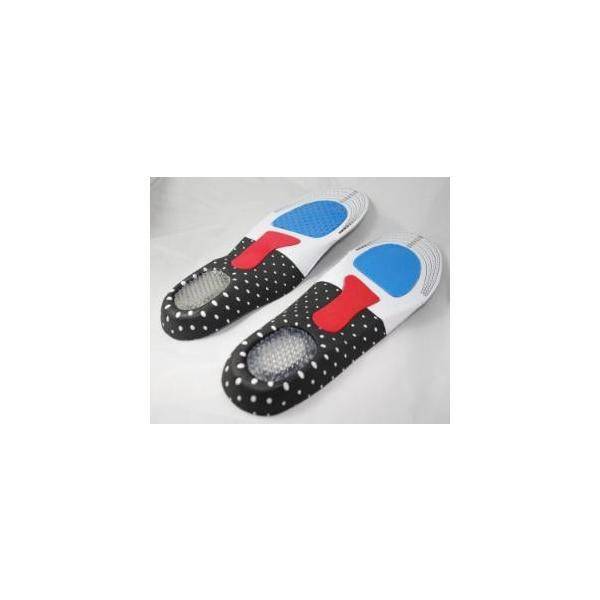 インソール メンズ レディース かかと足底筋膜炎 衝撃吸収 衝撃吸収インソール 中敷き クッション 防臭加工 fjab037|y-mty|02