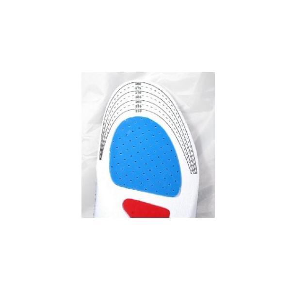 インソール メンズ レディース かかと足底筋膜炎 衝撃吸収 衝撃吸収インソール 中敷き クッション 防臭加工 fjab037|y-mty|03