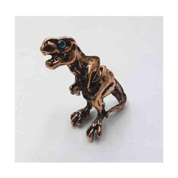 ピアス メンズ おしゃれ おもしろ 恐竜 アンティーク シルバー セカンドピアス 金属アレルギー対応ピアス ngab377 y-mty 06