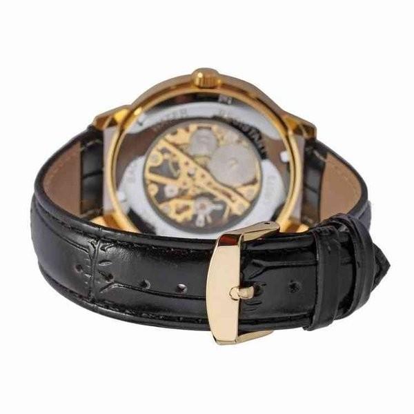 腕時計 メンズ 40代 おしゃれ ビジネス 50代 メンズウォッチ ブラック フルスケルトン 高級感抜群 手巻き フェイス シルバー インデックス rkab045|y-mty|05