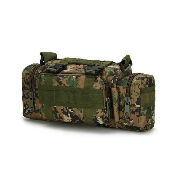 迷彩バッグ メンズ スポーツバッグ ミリタリーバッグ カモフラ 5way 多機能 ウエストバック ボディバッグ 防水 軽量 全11種類|y-mty|17