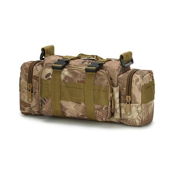 迷彩バッグ メンズ スポーツバッグ ミリタリーバッグ カモフラ 5way 多機能 ウエストバック ボディバッグ 防水 軽量 全11種類|y-mty|20