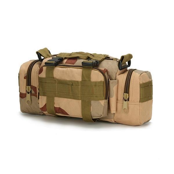 迷彩バッグ メンズ スポーツバッグ ミリタリーバッグ カモフラ 5way 多機能 ウエストバック ボディバッグ 防水 軽量 全11種類|y-mty|18