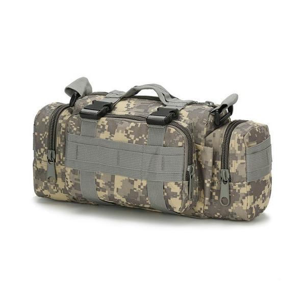 迷彩バッグ メンズ スポーツバッグ ミリタリーバッグ カモフラ 5way 多機能 ウエストバック ボディバッグ 防水 軽量 全11種類|y-mty|13