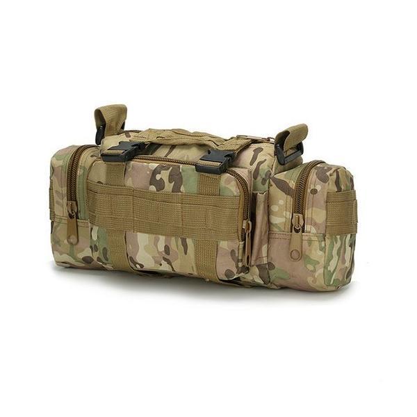 迷彩バッグ メンズ スポーツバッグ ミリタリーバッグ カモフラ 5way 多機能 ウエストバック ボディバッグ 防水 軽量 全11種類|y-mty|15