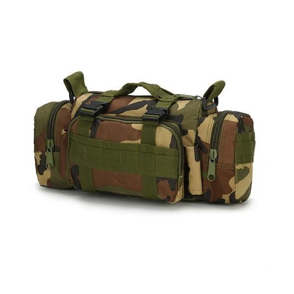 迷彩バッグ メンズ スポーツバッグ ミリタリーバッグ カモフラ 5way 多機能 ウエストバック ボディバッグ 防水 軽量 全11種類|y-mty|16
