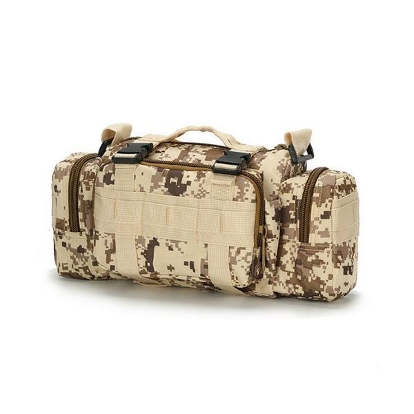 迷彩バッグ メンズ スポーツバッグ ミリタリーバッグ カモフラ 5way 多機能 ウエストバック ボディバッグ 防水 軽量 全11種類|y-mty|19