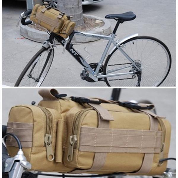 迷彩バッグ メンズ スポーツバッグ ミリタリーバッグ カモフラ 5way 多機能 ウエストバック ボディバッグ 防水 軽量 全11種類|y-mty|09