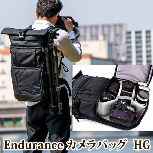 カメラバッグ 一眼レフ リュック 大容量 Endurance(エンデュランス)  HG カメラバック カメラリュック バックパック |y-op