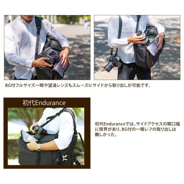 カメラバッグ 一眼レフ リュック 大容量 Endurance(エンデュランス)  HG カメラバック カメラリュック バックパック |y-op|08