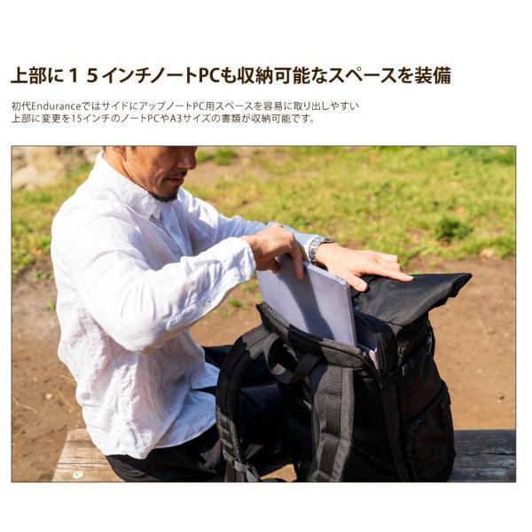 カメラバッグ 一眼レフ リュック 大容量 Endurance(エンデュランス)  HG ブラック迷彩 y-op 21