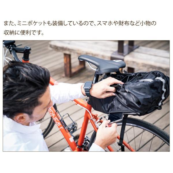 Endurance(エンデュランス) リュックにもなる大容量サドルバッグ ロードバイク クロスバイク ミニベロ MTB|y-op|11