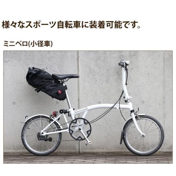 Endurance(エンデュランス) リュックにもなる大容量サドルバッグ ロードバイク クロスバイク ミニベロ MTB|y-op|05