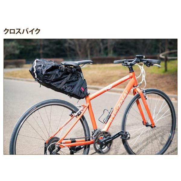 Endurance(エンデュランス) リュックにもなる大容量サドルバッグ ロードバイク クロスバイク ミニベロ MTB|y-op|06