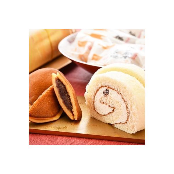 羽咋市ふるさと納税神子原米ロールケーキと神子原米どら焼きの詰め合わせ
