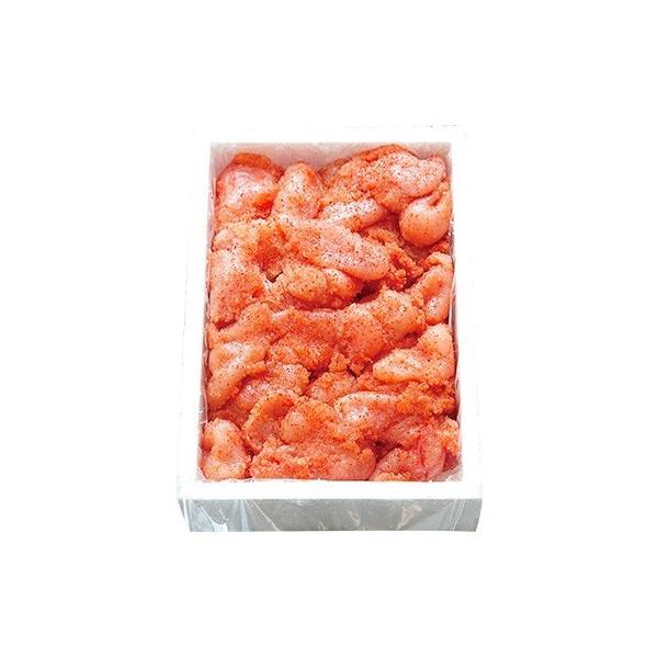吉田町 ふるさと納税 はねうお食品工場直送 無着色 訳あり 切れ子 辛子明太子 並切 1kg|y-sf