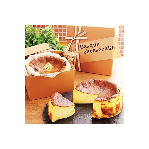 佐賀市ふるさと納税バスクチーズケーキ