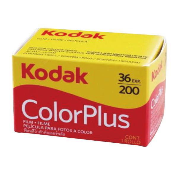 カラーネガフィルム カラープラス ColorPlus 200 36枚撮 単品 英文パッケージ ネガフィルム フィルムカメラ レトロ コダック Kodak