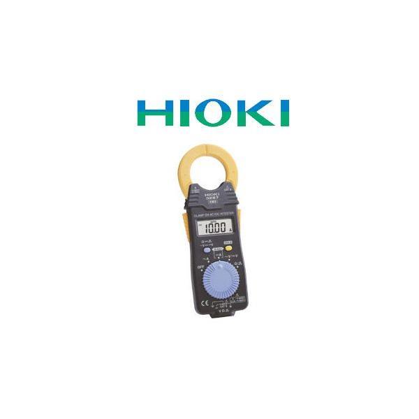 受発注商品 送料無料 HIOKI(日置電機)クランプオンAC/DCハイテスタ 3287 最軽量 交・直両用クランプ電流計