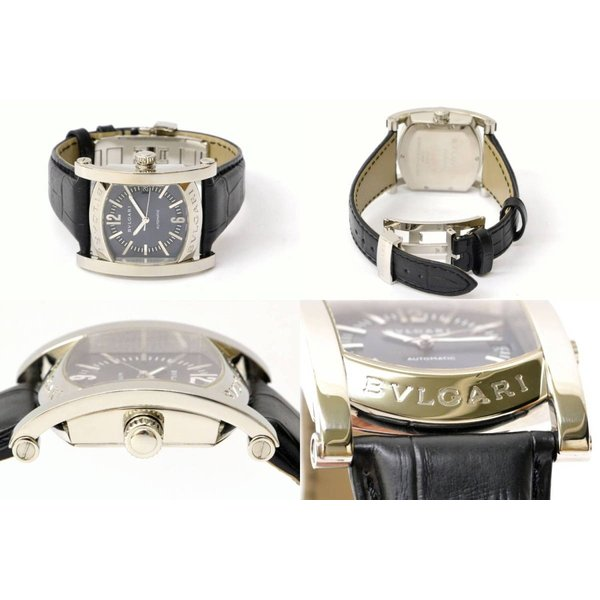 outlet store 31a2e 931c6 本物 BVLGARI ブルガリ AA44S アショーマ 腕時計 AT オートマ ...