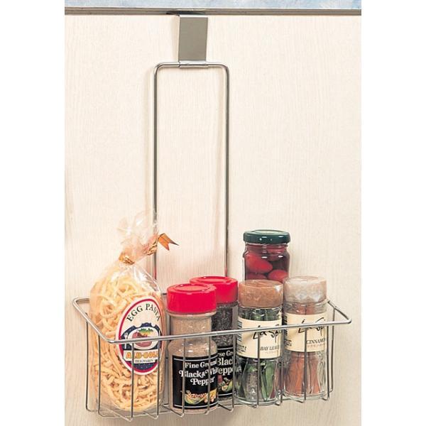 フリー バスケット 1段 スマートハング 18-8ステンレス 日本製 キッチン シンク下 収納 シンク扉に引っ掛けるだけ|y-simnet|02