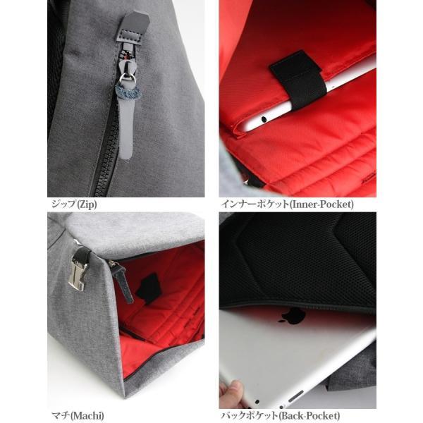 c18477658caa ... トライアングルバックパック メンズ バッグ かばん カバン 鞄 リュックサック デイパック バックパック キャンバス 無地 
