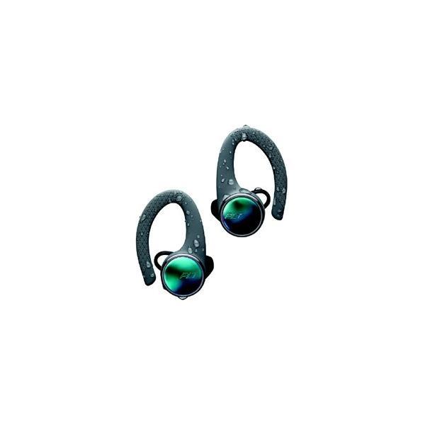 プラントロニクス フルワイヤレスイヤホン BACKBEATFIT3100-GRY グレー [リモコン・マイク対応/防水&左右分離/Bluetooth]
