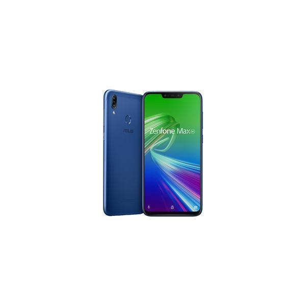 ASUS Zenfone Max M2 スペースブルー [ZB633KL-BL32S4]の画像