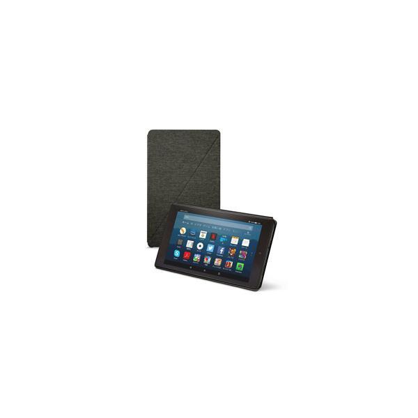 Amazon アマゾン Amazon純正 Fire HD 8 タブレット (第7世代、第8世代) 用カバー チャコールブラック B01N44JIBC