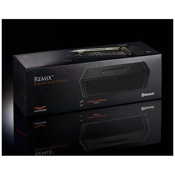 VMODA ブルートゥーススピーカー (ブラック) REMIX-BK