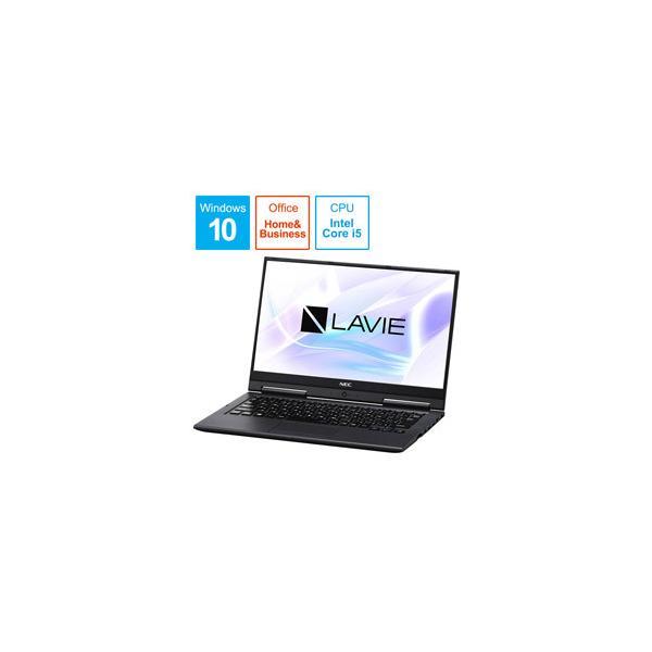 NEC 13.3型ノートPC [Win10 HOME・Core i5・SSD 128GB・メモリ 4GB・Office Home & Business] PC-HZ500LAB メテオグレー 【生産完了品】の画像