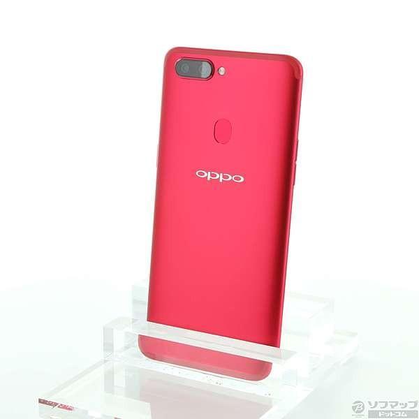 OPPO R11s 64GB レッド SIMフリーの画像